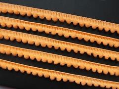 MERUŃKOVÝ bambulkový prýmek bambulky 5mm luxusní, á 1m
