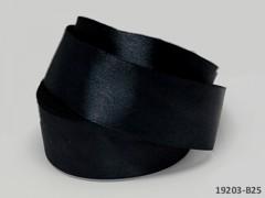 Černá stuha atlasová 50mm široká stuha šerpa 5cm černá