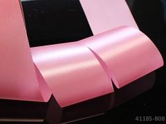 Růžová  stuha atlasová 50mm široká stuha šerpa 5cm růžová