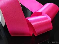 Růžová cyklámová  stuha atlasová 50mm široká stuha šerpa 5cm magenta