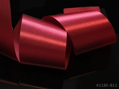 Červená stuha atlasová 50mm široká stuha šerpa 5cm červená