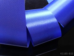 Modrá kobaltová stuha atlasová 50mm široká stuha šerpa 5cm modrá nivea