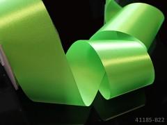 Zelená limetková stuha atlasová 50mm široká stuha šerpa 5cm limetkově zelená