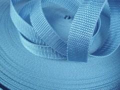 MODRÝ SVĚTLE popruh polypropylénový šíře 15mm PP popruh 1,5cm