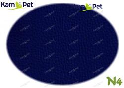 Modrá tmavě koženka modrá tmavá N4  látka čalounická koženka