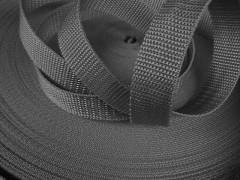 ŠEDÝ popruh polypropylénový šíře 15mm PP popruh 1,5cm