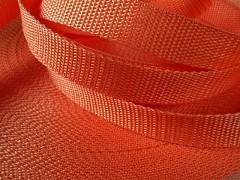 ORANŽOVÝ popruh polypropylénový šíře 30mm PP popruh 3cm