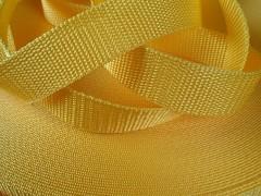 ŽLUTÝ popruh polypropylénový šíře 40mm PP popruh 4cm