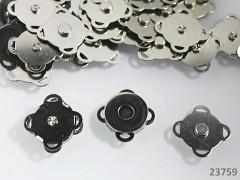 Přišívací magnetické zapínání kulaté 18mm, 1ks
