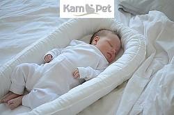 Hnízdečko pro miminko č. 1 KamPet Classic  bílý