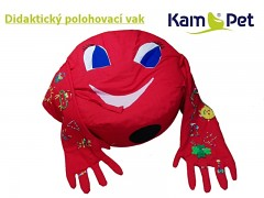 ČERVENÁ BERUŠKA didaktický polohovací vak KamPet Classic vel. 105 100% bavlna
