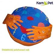 HODINY  didaktický polohovací vak KamPet Classic vel. 140 100% bavlna
