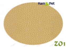 Žlutá koženka žlutá matná světlá ZO1  látka čalounická koženka