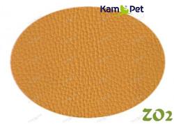 Žlutá koženka žlutá matná tmavší ZO2 látka čalounická koženka