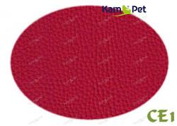 Červená koženka červená CE1  látka čalounická koženka