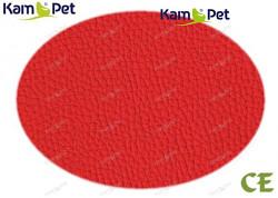 Červená koženka červená super jasná CE  látka čalounická koženka
