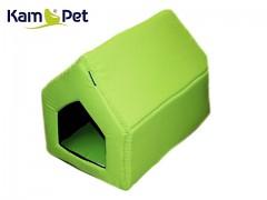 Limetková bouda sedlová pro pejska či kočku KamPet Classic
