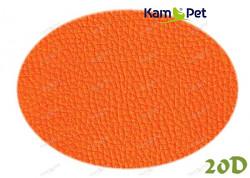 Oranžová koženka oranžová pomerančová 20D  látka čalounická koženka