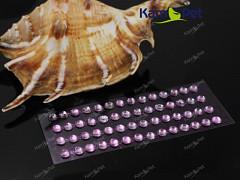 RŮŽOVÉ samolepící kamínky 5mm