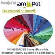 25% SLEVA + TABURET ZDARMA Sedací vak KamPet Beanbag 125/90 RINS kombinace barev