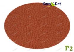 Oranžová skořicová koženka tmavý oranž P2  látka čalounická koženka