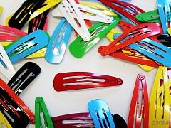 MIX Vlasová sponky pukačky barevné, bal. 10ks
