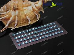MODRÉ SVĚTLE samolepící kamínky 5mm