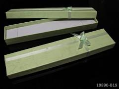 Dárková krabička dlouhá ZELENÁ