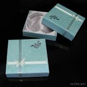 Dárková krabička SVĚTLE MODRÁ 90mm