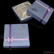 Dárková krabička SVĚTLE FIALOVÁ 90mm