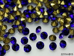 Modré nivea kamínky šatón do lůžka 5mm, bal. 10ks