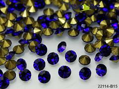 Modré nivea kamínky šatón do lůžka 3mm, bal. 20ks