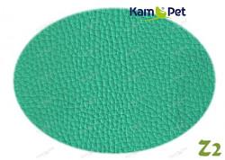 Zelená koženka zelená pastelová hrášková Z2  látka čalounická koženka