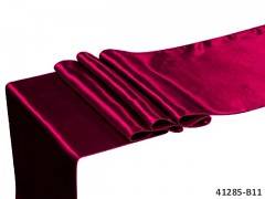 BORDÓ satén 36cm luxusní lesklá svatební stuha šerpa