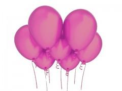 CYKLÁM nafukovací balónek  27cm PERLEŤOVÝ extra pevný