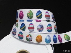 Stuha Velikonoční vajíčka 20mm,  á 1m