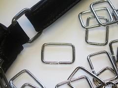 Silná kovová spona průvlek 20mm, á 1ks