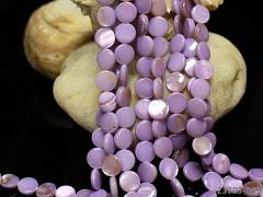 FIALKOVÁ PERLEŤ lentilky přírodní minerál