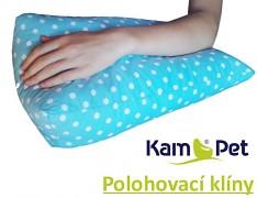 Polohovací klín úzký pod ruku, nohu KamPet Classic 100% bavlna