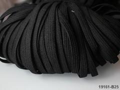 ČERNÁ pruženka guma prádlová 8mm ekonomy - 1 nebo 100m