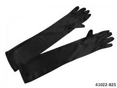 ČERNÉ Dámské společenské rukavičky dlouhé