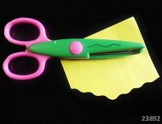 Ozdobné scrapbooking nůžky tvoření s dětmi