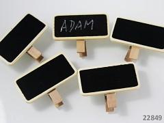 Dekorační kolíčky TABULKY na jmenovky a k dekoraci