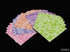 Origami papíry květy růže scrapbooking