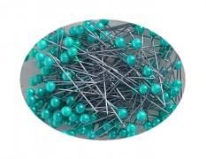 Modré špendlíky - světle modrý špendlík  dekorační špendlíky