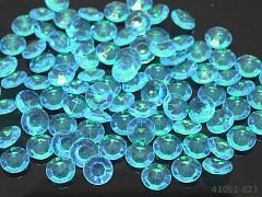 TYRKYSOVÉ diamanty kamínky svatební, á 1ks