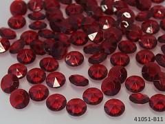 BORDÓ diamanty kamínky svatební, á 1ks