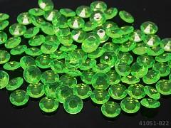 ZELENÉ diamanty kamínky svatební, á 1ks