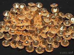 ŽLUTO-ZLATÉ diamanty kamínky svatební, á 1ks