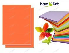 ORANŽOVÝ papír SYTÝ barevný A4